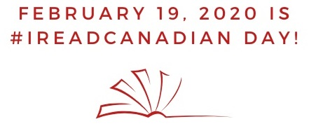 I Read Canadian with book image